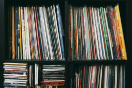 Why Hong Kongers still buy vinyl by Still/Loud. The author's vinyl collection. Vivian Yeung, Still / Loud